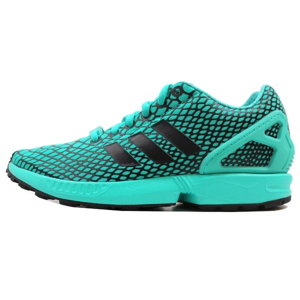 a73889434 Shop Adidas Men s ZX Flux Techfit Black Shock Mint Green S79065 Size ...