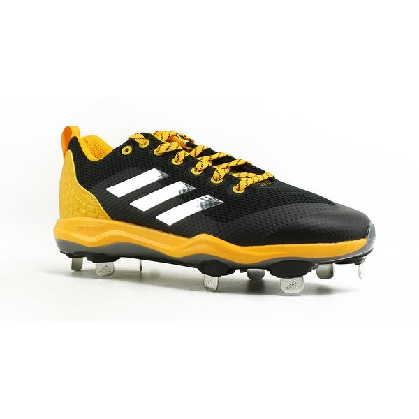 1073c12e1 Shop Adidas Mens Poweralley 5 Black Baseball Cleats Size 6.5 - Free ...