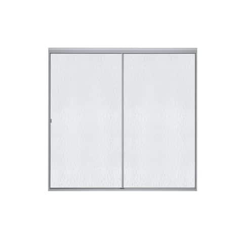 "Sterling 500C-59 Standard 56-7/16"" x 59"" Framed Sliding Shower Door with Clear Glass"