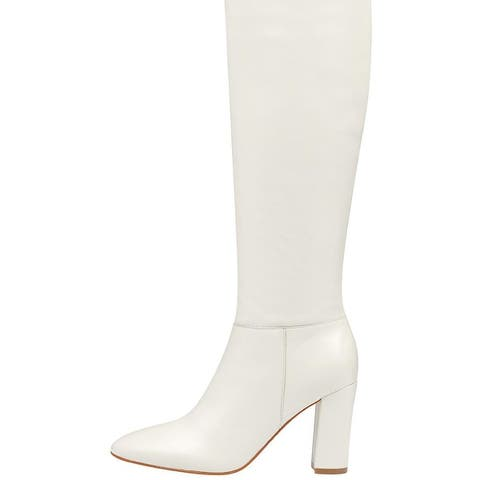 Marc Fisher Womens Zimra Closed Toe Knee High Fashion Boots