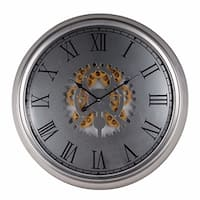 Classic Wall Clock, Dark Grey
