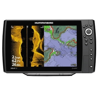 Humminbird Fishfinder Helix 12 CHIRP SI/GPS Combo - US and International HELIX 12 CHIRP SI/GPS Combo - US and International