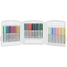 Assorted - Bic Mark-It Permanent Markers Fine Point 36/Pkg