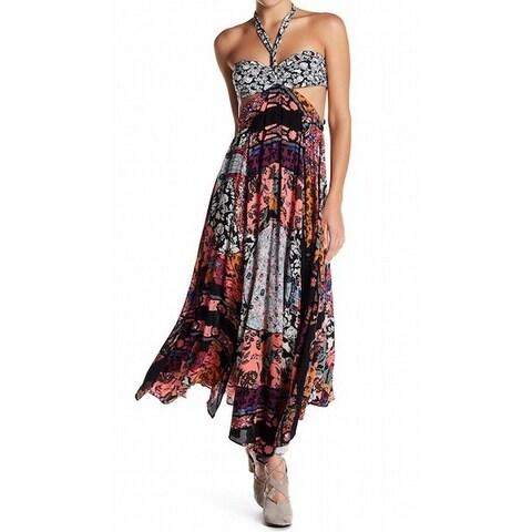 Free People Womens California Love Cutout Maxi Dress