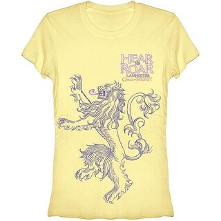 Game of Thrones Lannister Hear Me Roar Juniors T-Shirt