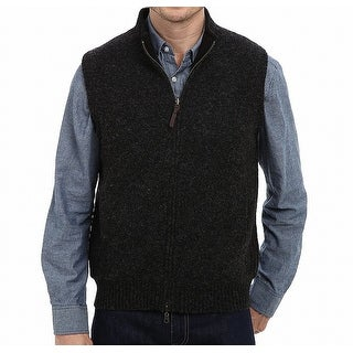 Pendleton Black Grey Men XL Full Zip Reversible Wool Territory