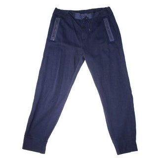 Polo Ralph Lauren NEW Navy Blue Mens Size XL Knitted Drawstring Pants