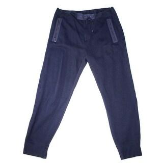 Polo Ralph Lauren NEW Navy Blue Mens Small S Zip-Pocket Jogger Pants