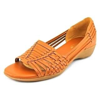 Naturalizer Nerissa Women W Open Toe Leather Wedge Sandal