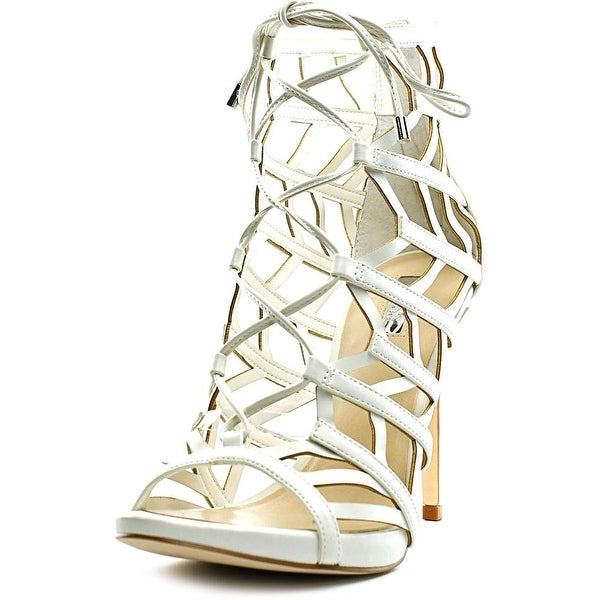 Guess Anasia 2 Women  Open Toe Synthetic White Sandals