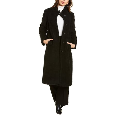 Cinzia Rocca Wool-Blend Teddy Coat