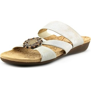 Acorn Samoset Slide Open Toe Leather Slides Sandal