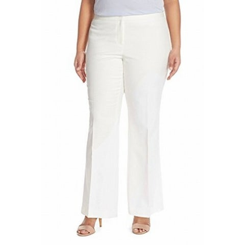 Vince Camuto Womens Plus Flare-Leg Dress Pants
