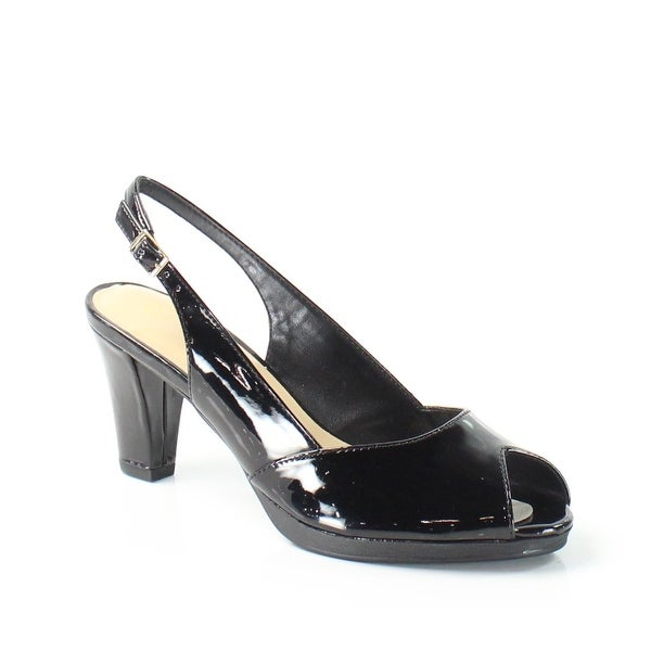 Bella Vita NEW Black LisetII Shoes Size 7.5N Slingbacks Heels