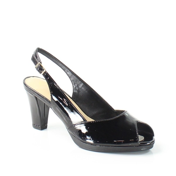 Bella Vita NEW Black LisetII Shoes Size 7N Slingbacks Heels