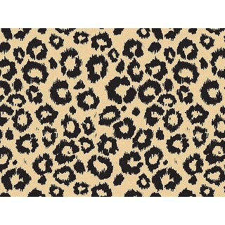 """Pack Of 240, Animal Print Leopard Safari (Kraft) Recycled 20"""" X 30"""" Sheets Tissue Prints Made In Usa"""