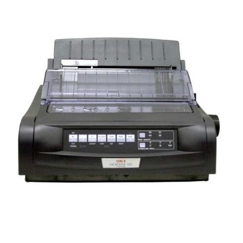 Okidata - Ml420n Black - Monochrome - Dot-Matrix - Network - 9-Pin Printerhead - 570 Cps