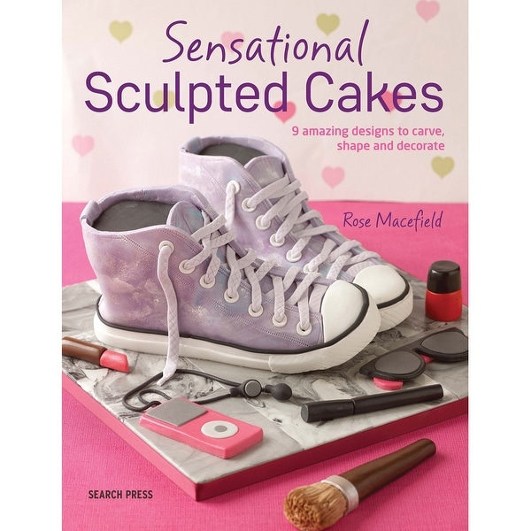 Search Press Books-Sensational Sculpted Cakes