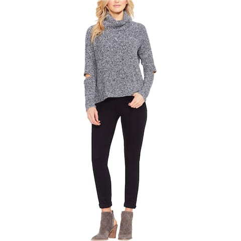 Vince Camuto Womens Marled Knit Sweater