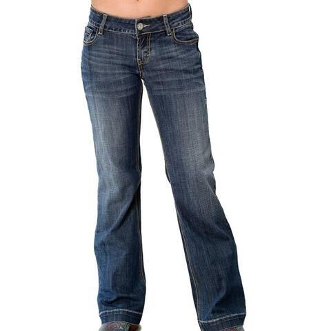 Tin Haul Western Jeans Womens Trouser Blue