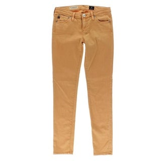 Adriano Goldschmied Womens Colored Low-Rise Skinny Jeans - 31