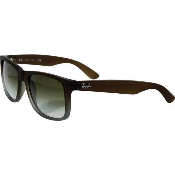 074fa378304 Shop Ray-Ban Men s Justin Highstreet Square Sunglasses RB4165-854 7Z ...