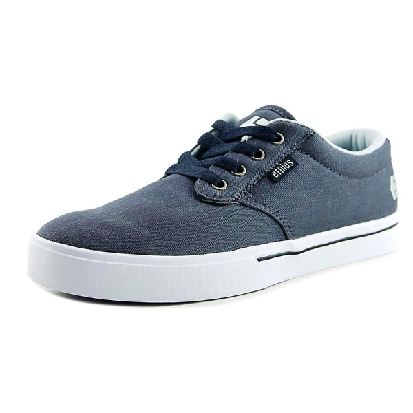 Etnies Jameson2 Eco Men Round Toe Canvas Blue Skate Shoe