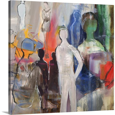 """""""Picasso's Friends"""" Canvas Wall Art"""