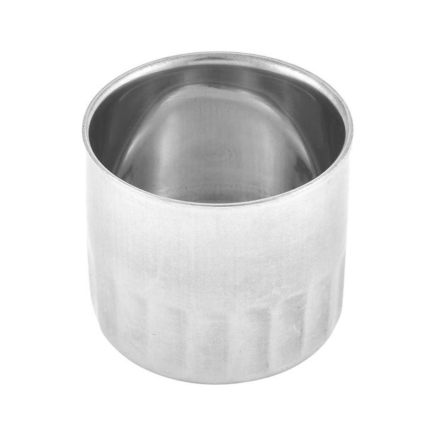 Household Restaurant Stainless Steel Tea Cup Container Silver Tone 6cm Diameter