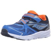 Kids Saucony Boys Ride Fabric Low Top   Walking Shoes