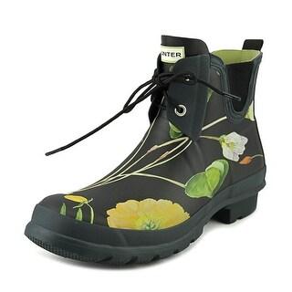 Hunter RHS Short Women Round Toe Synthetic Rain Boot