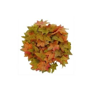 """SPC Garland Ver Maple Leaf 72"""" Or/Grn"""
