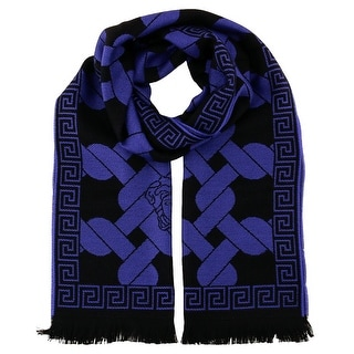 Versace IT00633 100% Wool Mens Scarf