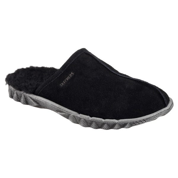 Skechers 64950 BLK Men's TRIDE Slipper