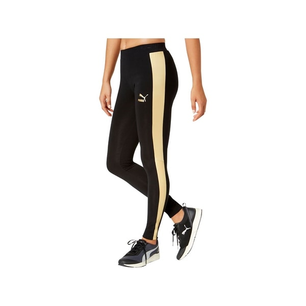 d9d3051ab0 Shop Puma Womens Athletic Leggings Metallic Yoga - XS - Free Shipping On  Orders Over $45 - Overstock - 22967830