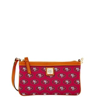 Dooney & Bourke NFL San Francisco 49ers Large Slim Wristlet (Introduced by Dooney & Bourke at $88 in Aug 2016)