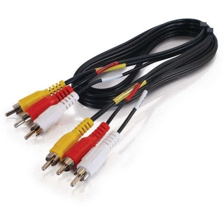 C2g - 12Ft Value Seriesandtrade; Composite Video + Stereo Audio Cable