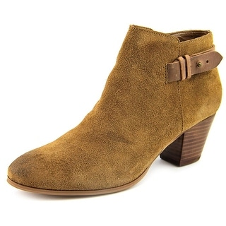 Guess Veora   Round Toe Suede  Ankle Boot