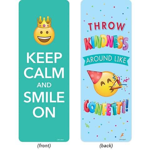 Emoji Fun Quotes Bookmarks Motivational