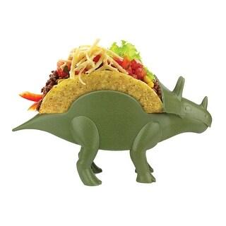 KidsFunwares Triceratops Taco Holder, Green
