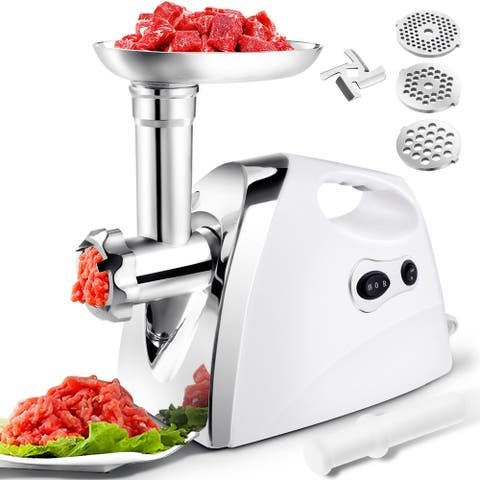 Gymax 2800W Electric Meat Grinder Sausage Stuffer - as pic