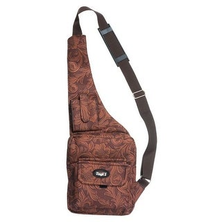 Tough-1 Western Bag Tablet Crossbody Tooled Leather 61-12