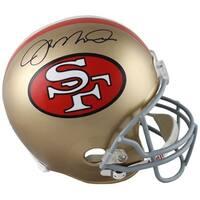 Joe Montana signed San Francisco 49ers Full Size Proline TB Helmet JSA Hologram