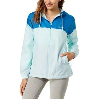 Columbia Womens Flash Forward Windbreaker Jacket Fall Water Resistant