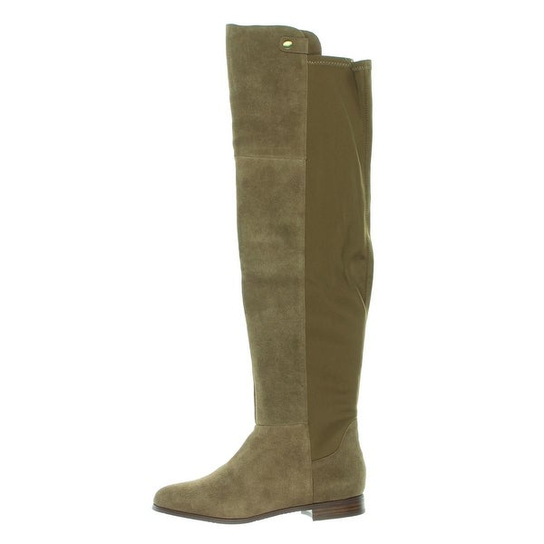 Chinese Laundry Womens Robin Riding Boots Suede Knee-High - 8.5 medium (b,m)