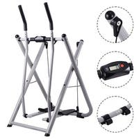 Costway Folding Air Walker Glider Fitness Exercise Machine Workout Trainer Gym Indoor