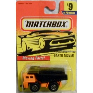 Matchbox #9 of 75 Earth Mover with moving parts - Multicolored