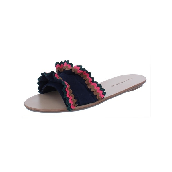 d5ea41b9660ee3 Shop Loeffler Randall Womens Birdie Flat Sandals Multi-Color Casual ...