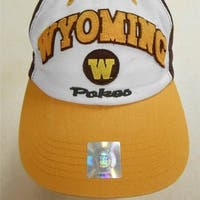 Wyoming Cowboys Pokes ADULT ONE SIZE Top of the World Cap Hat BIN-60