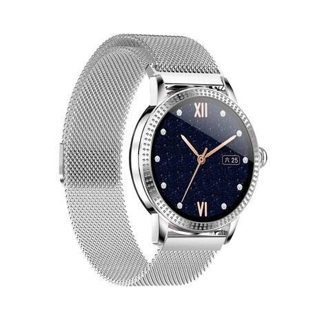 Smart Watch Fitness Wristband Sport Tracker Pro Version 1.22-inch Waterproof IP67 Heart Rate Blood Pressure Monitoring